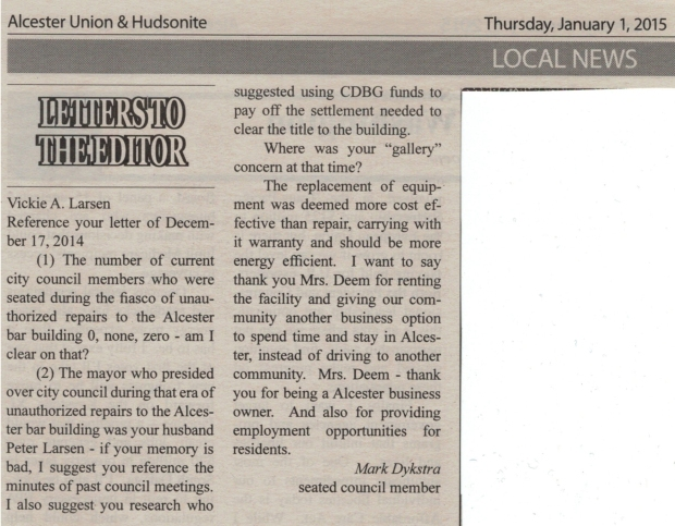 Dykstra letter- to-editor